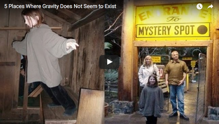 5 Places That Seems To Defy Gravity