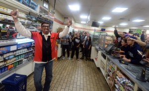7 Eleven Clerk m. Faroqui became an instant celebrity.