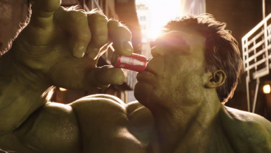 Ant Man vs Hulk Coke Mini
