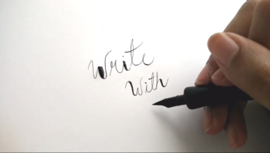 Carla Cab | Top 3 Tips For Calligraphy Beginners