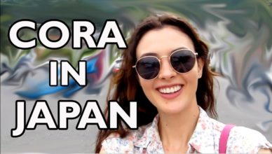 Cora In Japan