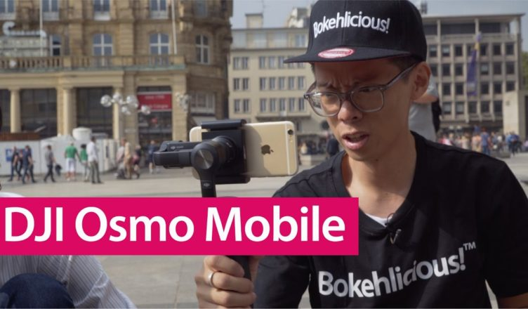 DJI Osmo Mobile Hands On Review