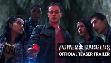 Power Rangers 2017 Movie
