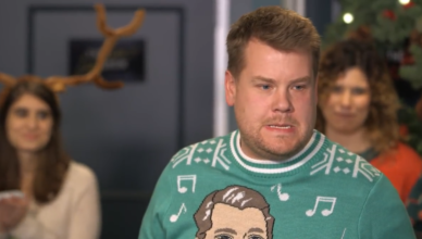 James Corden Exchange Gifts