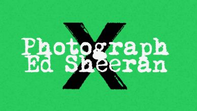 Ed Sheeran Photograph