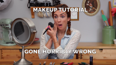 MAKEUP TUTORIAL GONE HORRIBLY WRONG (funny)