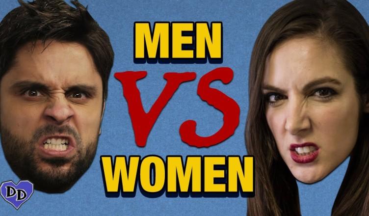 =3 Men vs Women