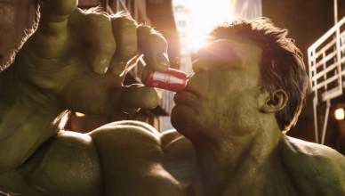 Ant Man vs Hulk Coke Mini