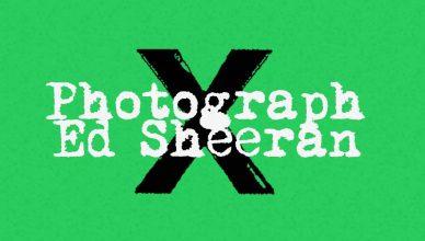 Ed Sheeran Photograph